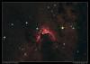Cave Nebula in Cepheus