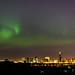 Aurora over Edmonton, Alberta