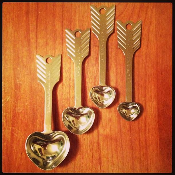 I love my new measuring spoons! #love