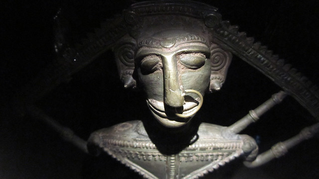 Exhibit at Musée du Quai Branly