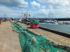 Scarborough, fishing nets