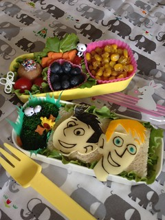Wild Kratts bento box