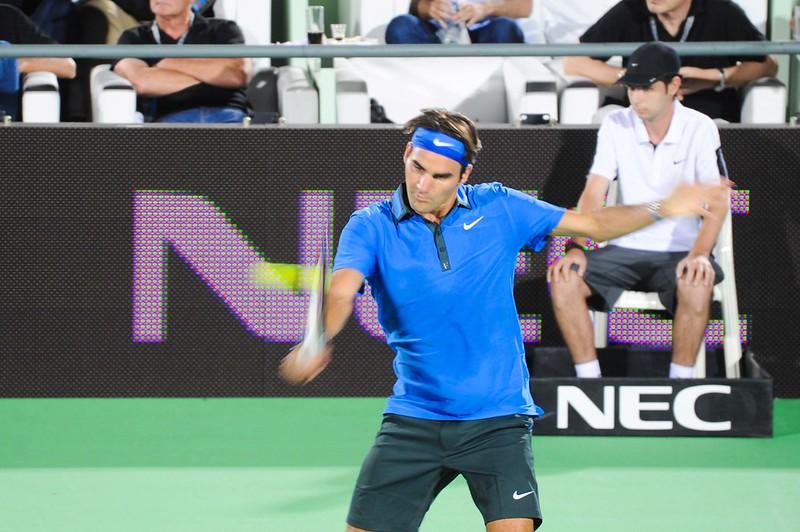 Roger Federer en Tigre, Argentina