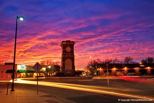 sunset timelapse historic kansas wichita delano