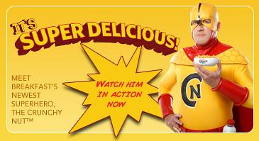 Crunchy Nut Superhero