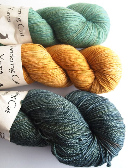 Wandering Cat Yarns-KAL prize package