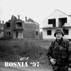 #bearphotoaday - 01/15 - someone had to do the dirty jobs because freedom isn't #free (along the road to Sarajevo)