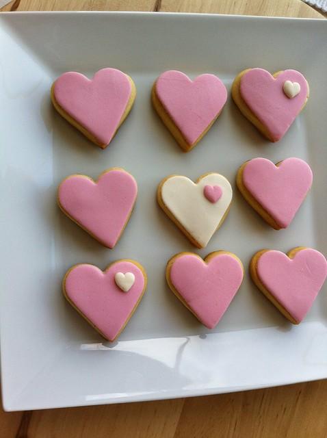 Valentinedayscookies