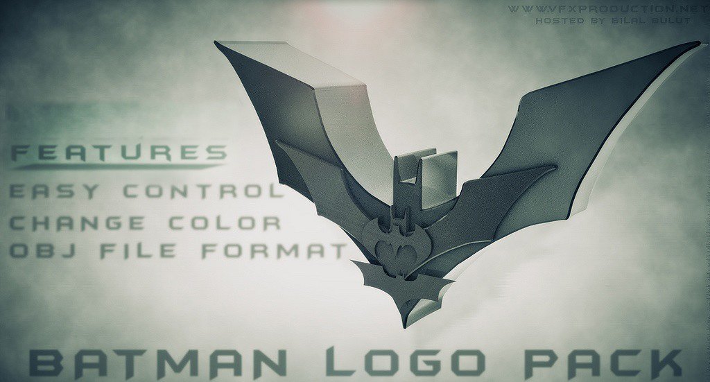 Element 3D (Batman Logo Pack)