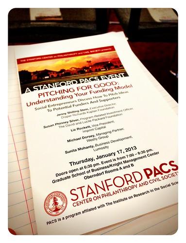 Stanford PACS program