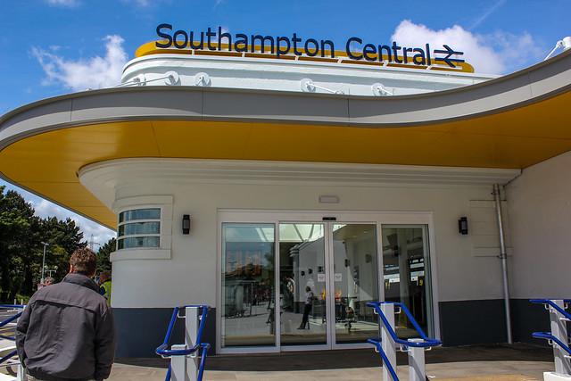 Southampton Central, estación central de tren