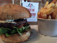 Coat of Arms Burger AUD14.50, chips AUD3.50 - clos…