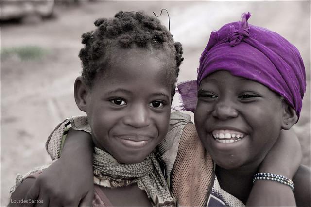 Young girls from bambara tribe mali lourdes sb