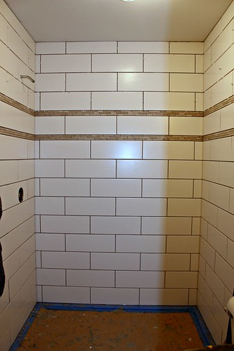 tiled shower 14