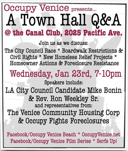 Occupy Venice Town Hall