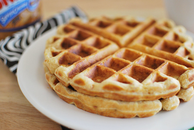 Peanut Butter Waffles | Flickr - Photo Sharing!