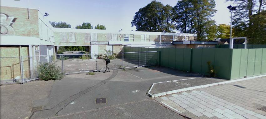 Robert Sayle warehouse, Mill Road (Google map streetview screenshot)