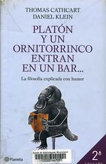 Thomas Cathcart y Daniel Klein, Platón y un ornitorrinco entran en un bar