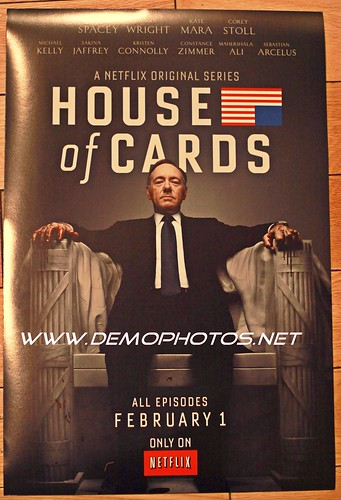 "NETFLIX'S FIRST ORIGINAL SERIES, ""HOUSE OF CARDS,"" by DEMO PHOTOS by DeMond Younger"