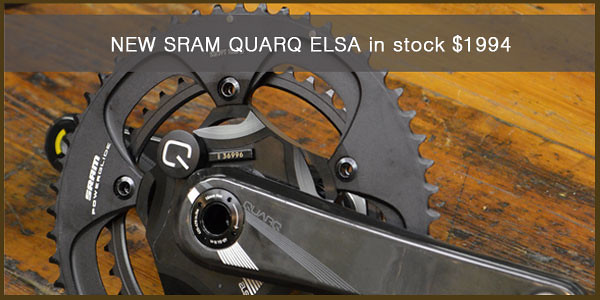 NEW and in Stock - SRAM QUARQ ELSA Power Meter Crank