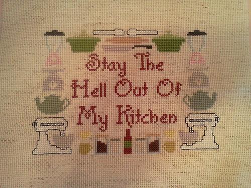 kitchen cross stitce
