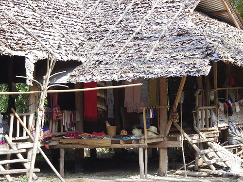 Kayan people village