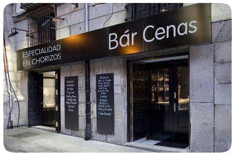 Bar Cenas Especialidad En Chorizoz