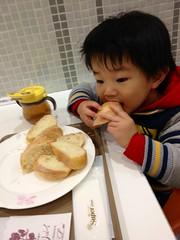 イートインでパン 2013/1/31