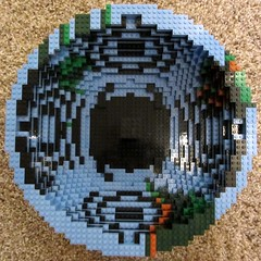 dirks LEGO globe - building up 04