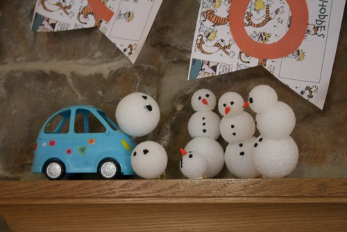 More of the crazy snowmen