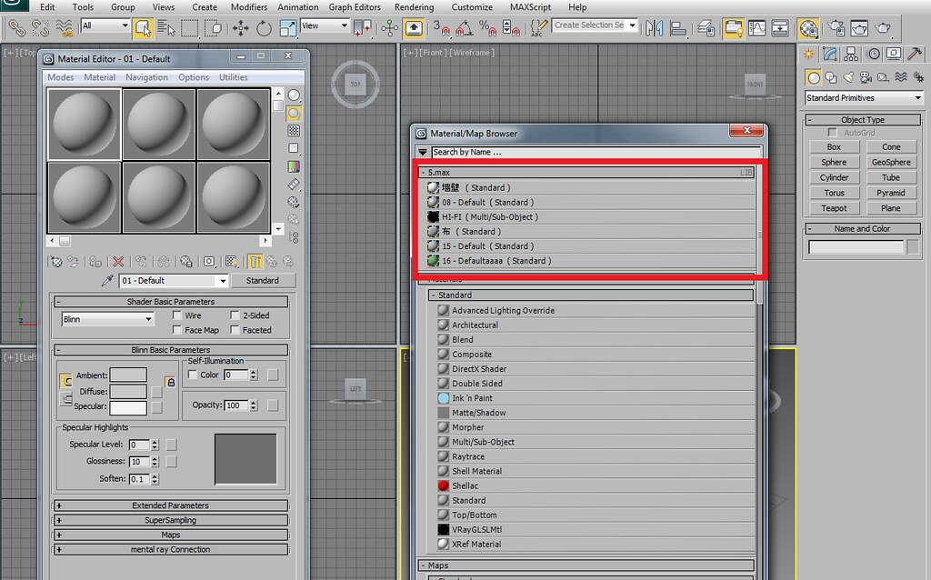 3ds max Learn Materials library File Download free