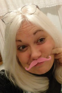 Ive got a pink stache!