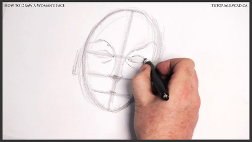learn how to draw a womans face 007