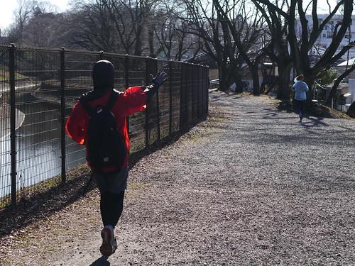 福生朝散歩