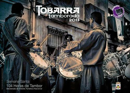 Cartel de la Tamborada 2013