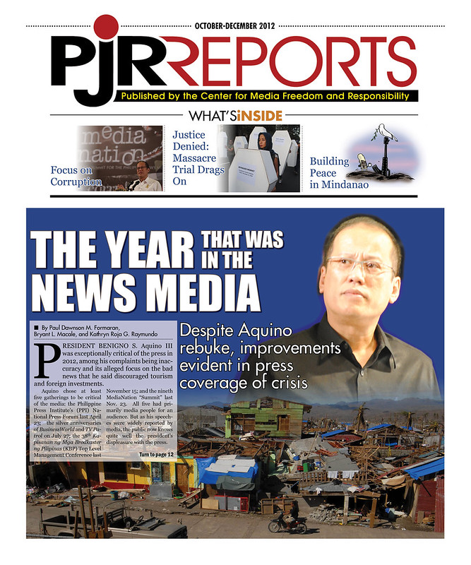 PJR Reports turns into a special annual