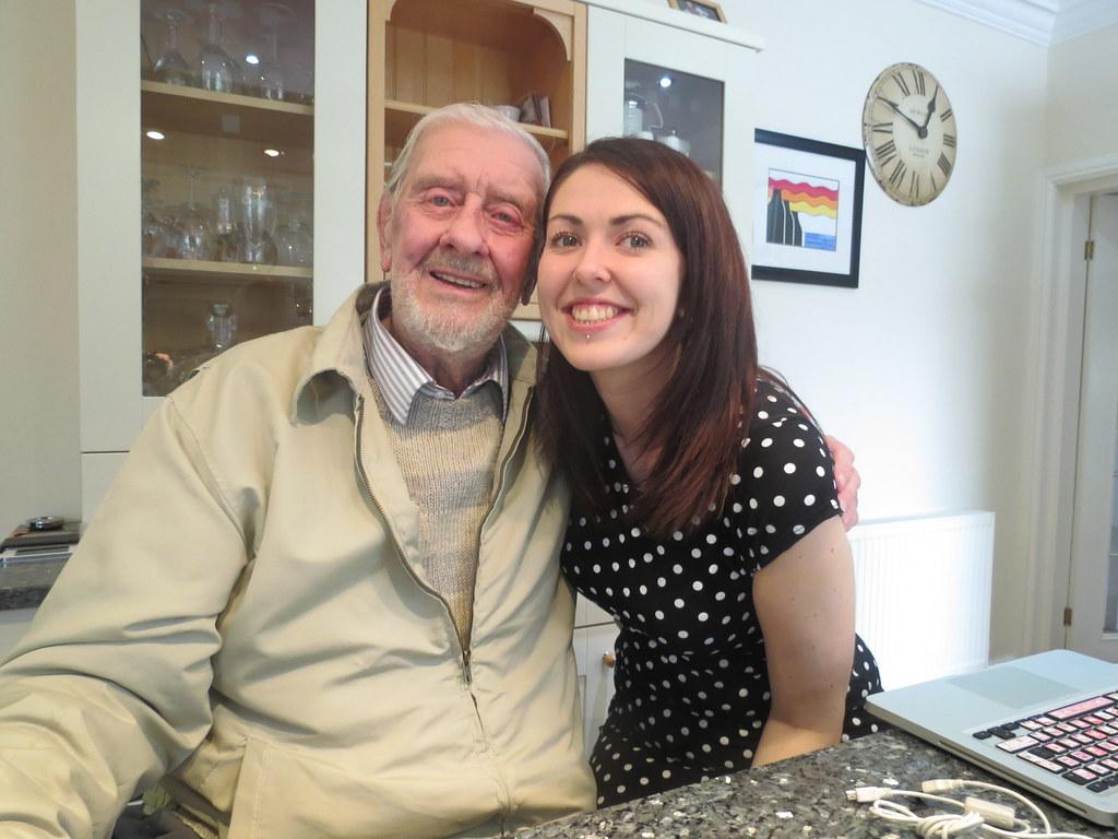 Me and Grandpa Lamb