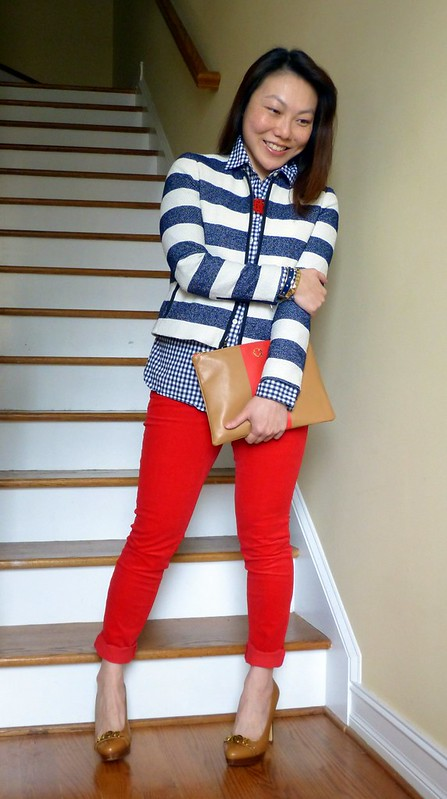 more gingham stripes