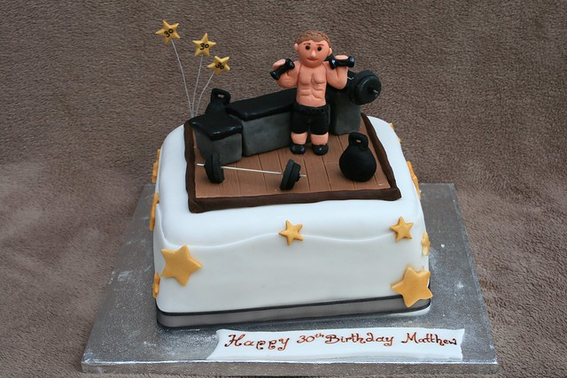 Bodybuilding Birthday Cake Bites