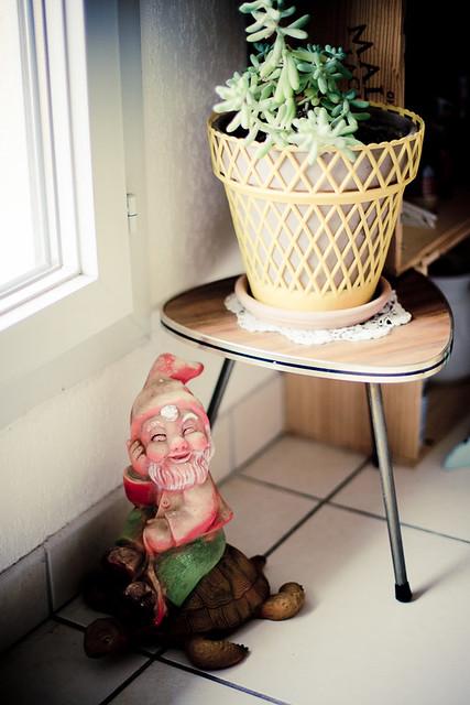 nain de jardin vintage