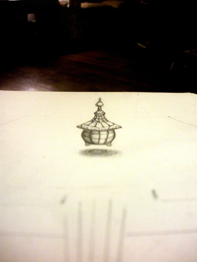 Anamorphic Vessel draft view