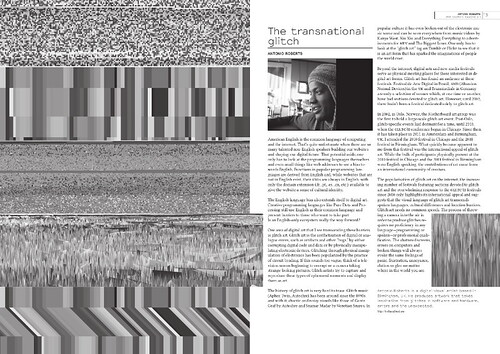 Libre Graphics Magazine 2.1 - The Transnational Glitch