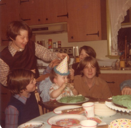 1981 02 Kevin 1st birthday- dated 390