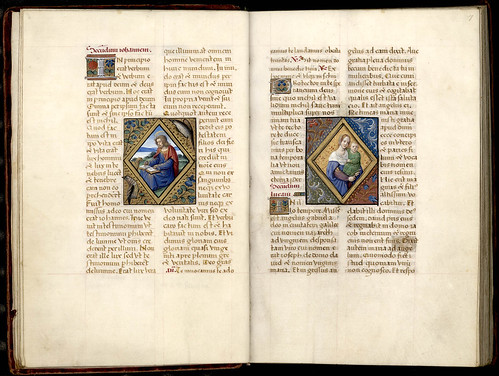 025-6v-7r-Thott 541 4 ° Liber horarum –Francia 1500- The Royal Library