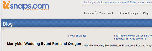Usnaps blogs about Marry Me 2013