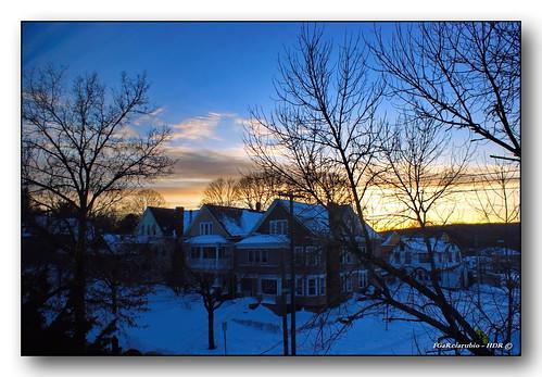 winter sunset snow connecticut ct newhaven fgr