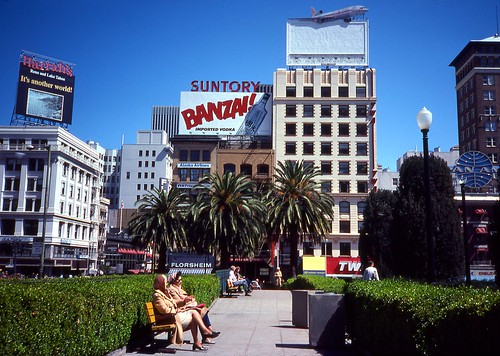 Union Square (2) San Francisco - September 1980
