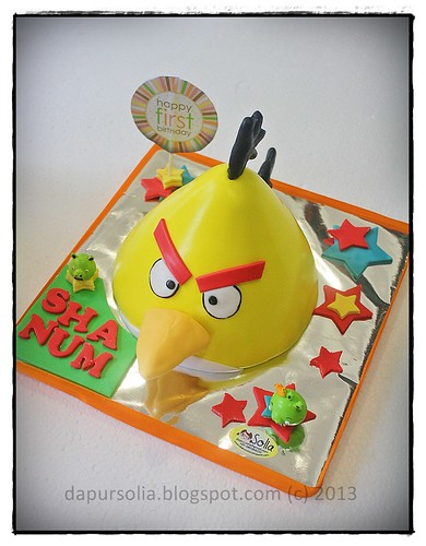 Yellow Angry Bird for Shanum