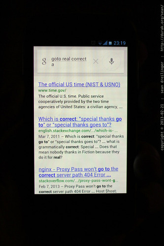 "google spoken query for ""goju ryu karate"" interpreted as ""goto real correct a""    MG 2533"