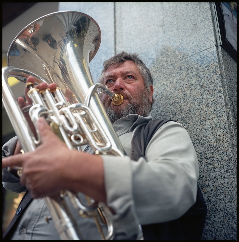 Solo Street Brass | The Lunchtime Portraits